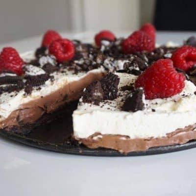 Oreo och nutellacheesecake
