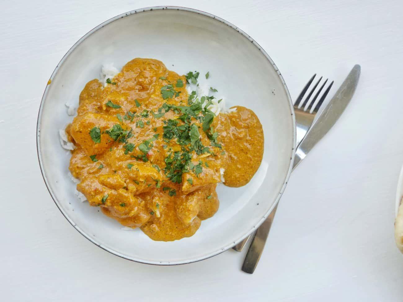 Riktigt god chicken tikka masala