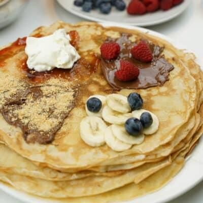 Tunna och goda pannkakor - balkan style