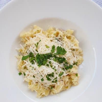 pasta med kronärtskocka