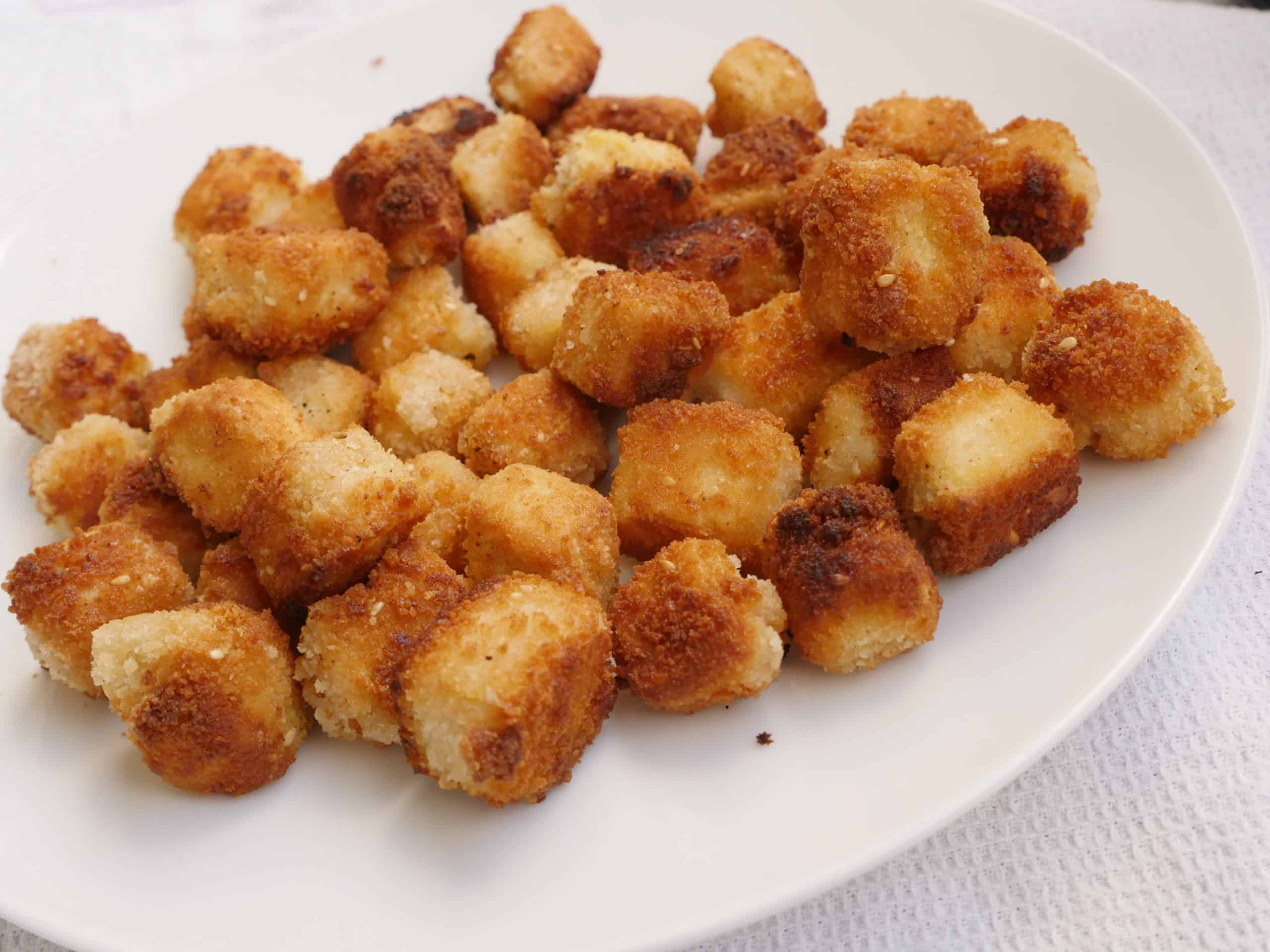 krispig tofu - panerad tofu