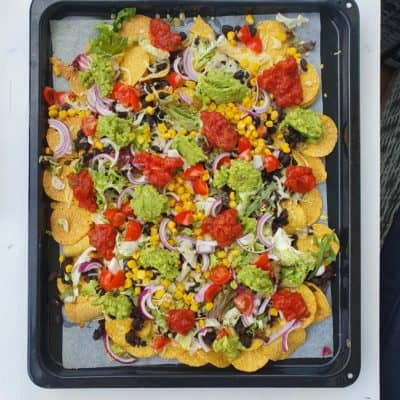 nachos - nachoplåt - nachotallrik