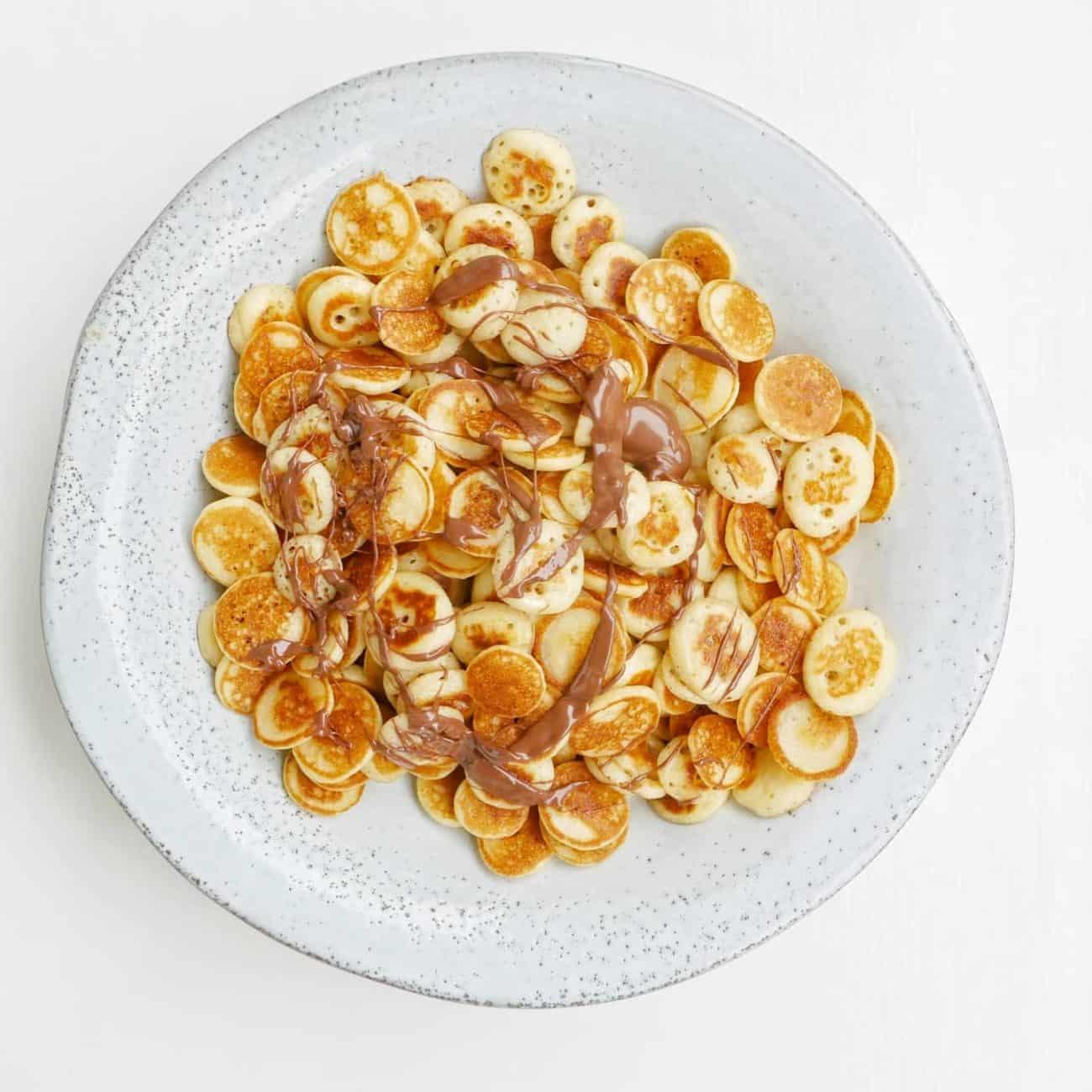 Cereal pancakes – minipannkakor