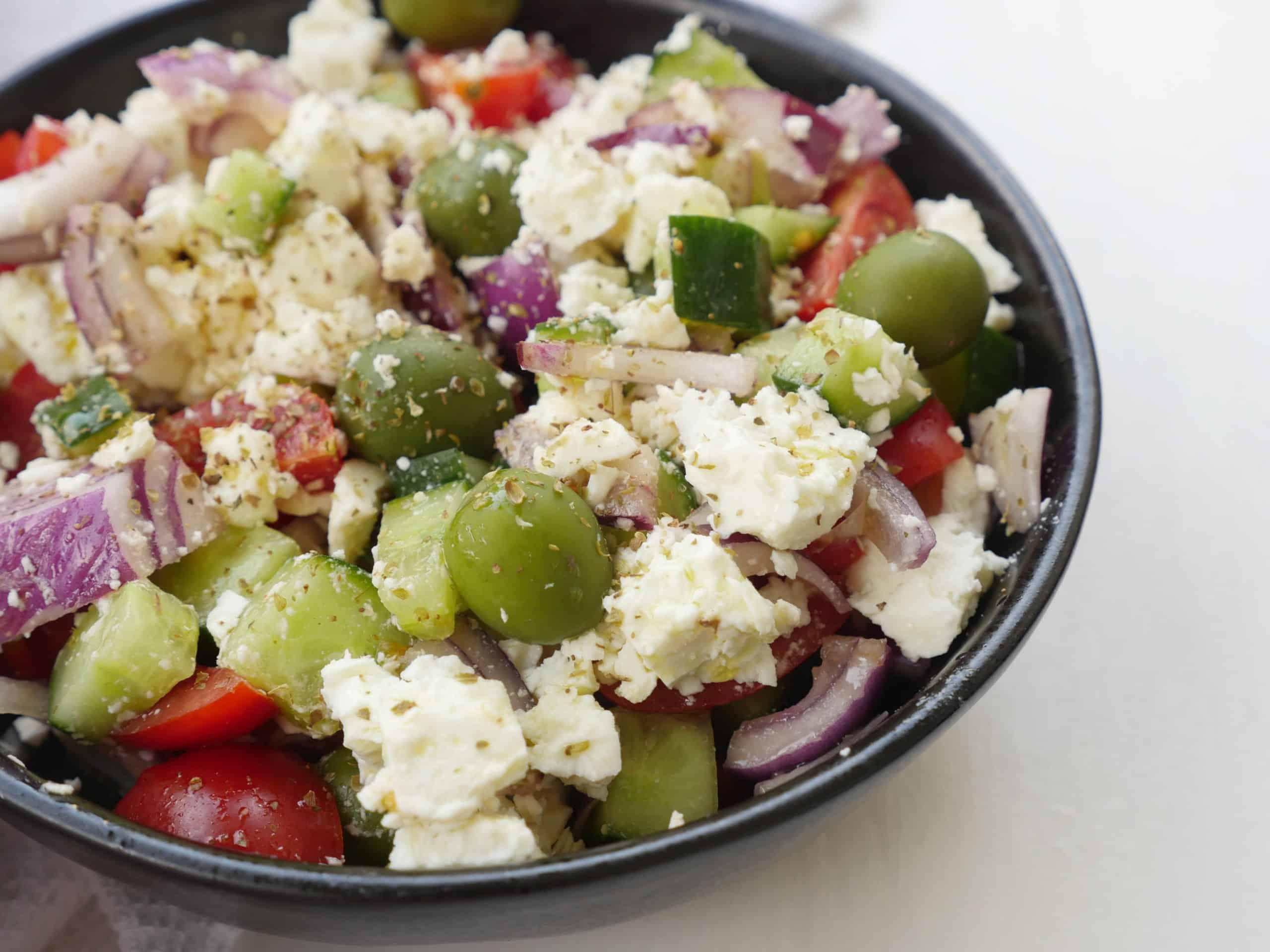 god grekisk sallad