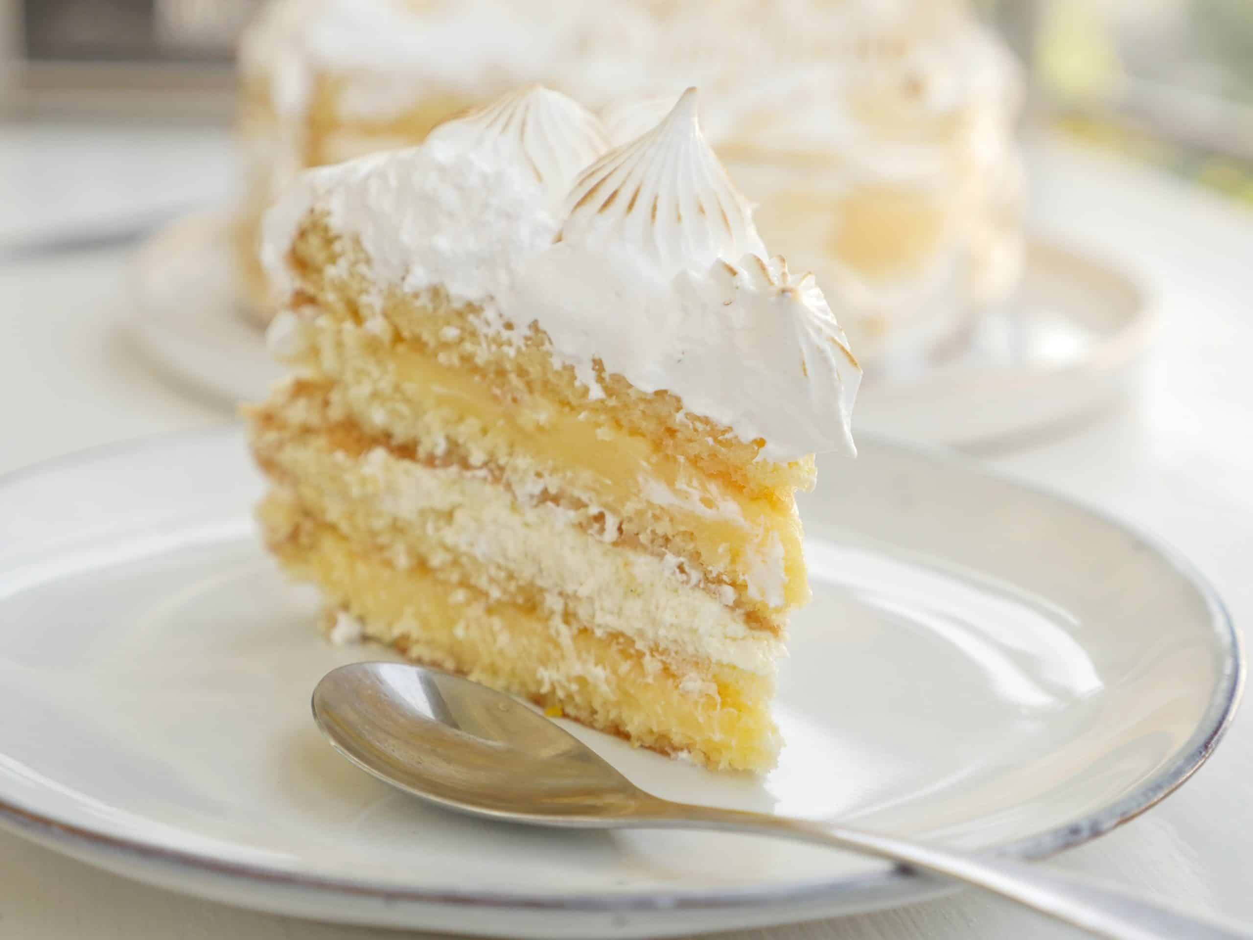 god citronmarängtårta