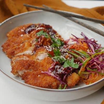 pankopanerad kycklingschnitzel