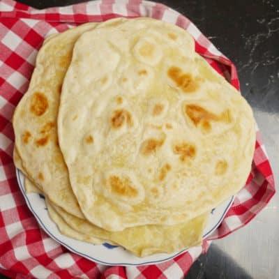 hemmagjorda tortillabröd