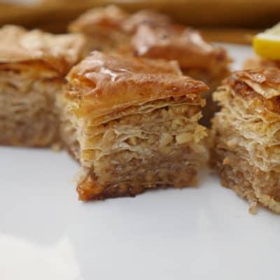 Baklava med valnötter - balkan recept