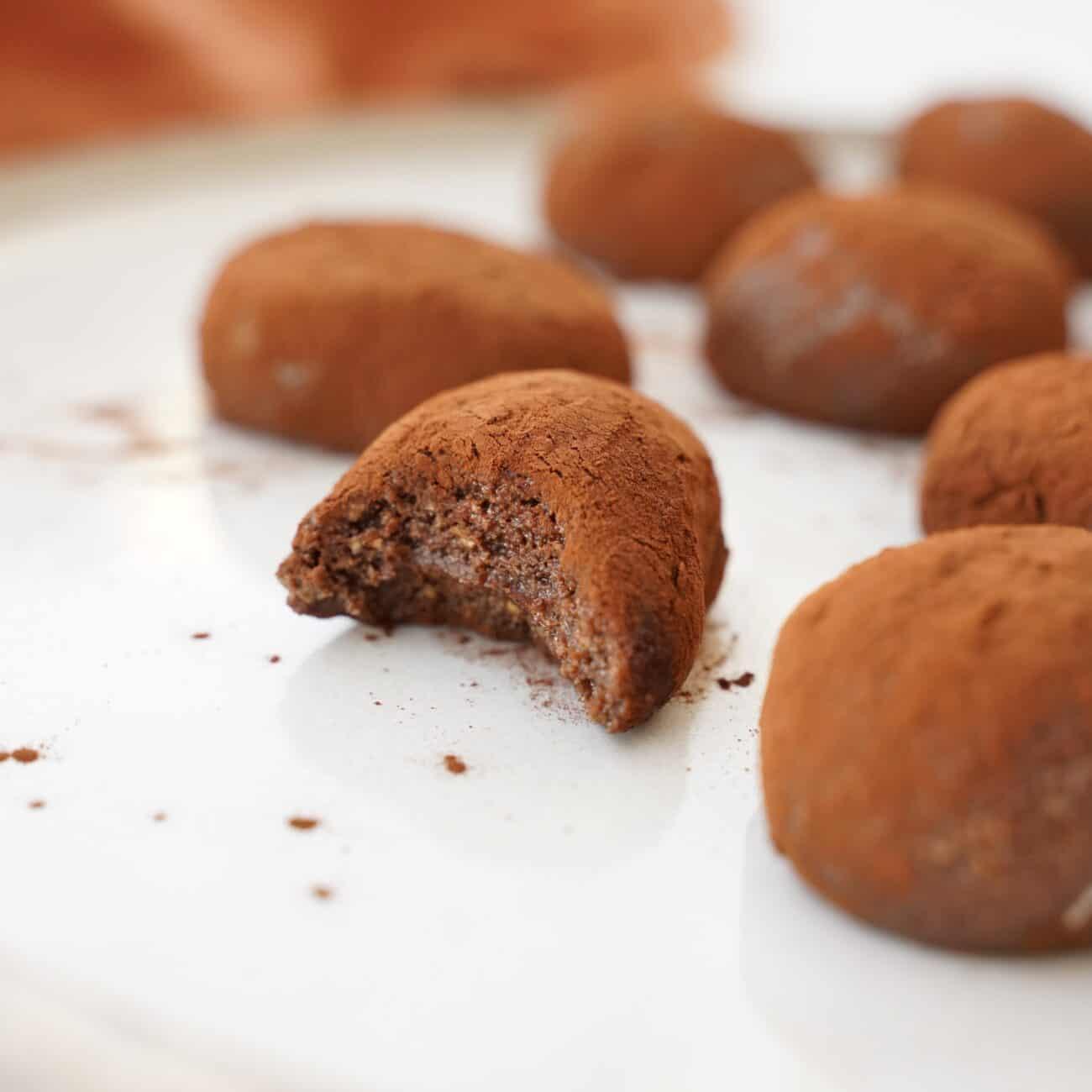 Chokladbollar på 3 ingredienser