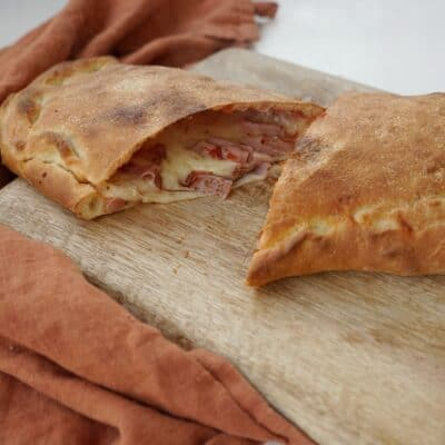Hemmagjord Calzone och riktigt god pizzadeg