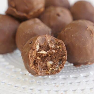Ferrerobollar - goda ferrerobollar på 4 ingredienser